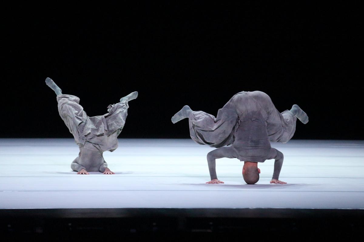 Choreographer, Tao and his wife, Duan in '2' © Wang Xiaojing
