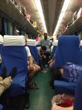 Train travel in China: the slow train, Aug 2015 © Cas Sutherland