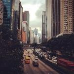 Hong Kong traffic, Nov 2015 © Cas Sutherland