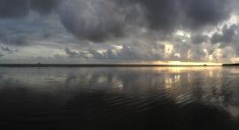 Sunset at Setse Beach, Myanmar, Aug 2015 © Cas Sutherland