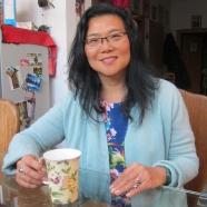 Lijia Zhang at her Beijing home, January 2016 © Cas Sutherland