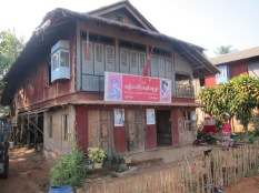 A local meeting house for National League for Democracy, Dawei, Myanmar, Jan 2016 © Cas Sutherland