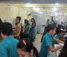 Women's work: photocopy shop near Yangon University, Feb 2016 © Cas Sutherland