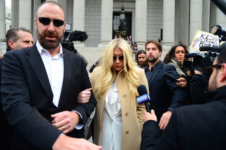 Kesha Makes An Appearance At New York State Supreme Court