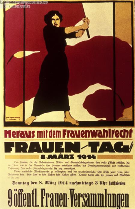Kulturgeschichte / Frauenbewegung / Deutschland / Propaganda