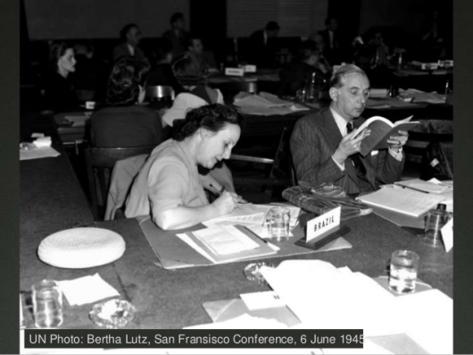 Bertha Lutz, San Francisco Conference, 6 June 1945 (2)